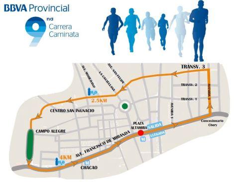 Provincial Ruta Caminata